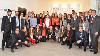 El Comité Ejecutivo junto con los equipos participantes
