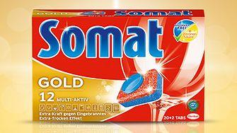 Die neuen phosphatfreien Somat Gold 12 Multi-Aktiv Tabs