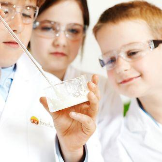 Kleine Forscher in der Forscherwelt