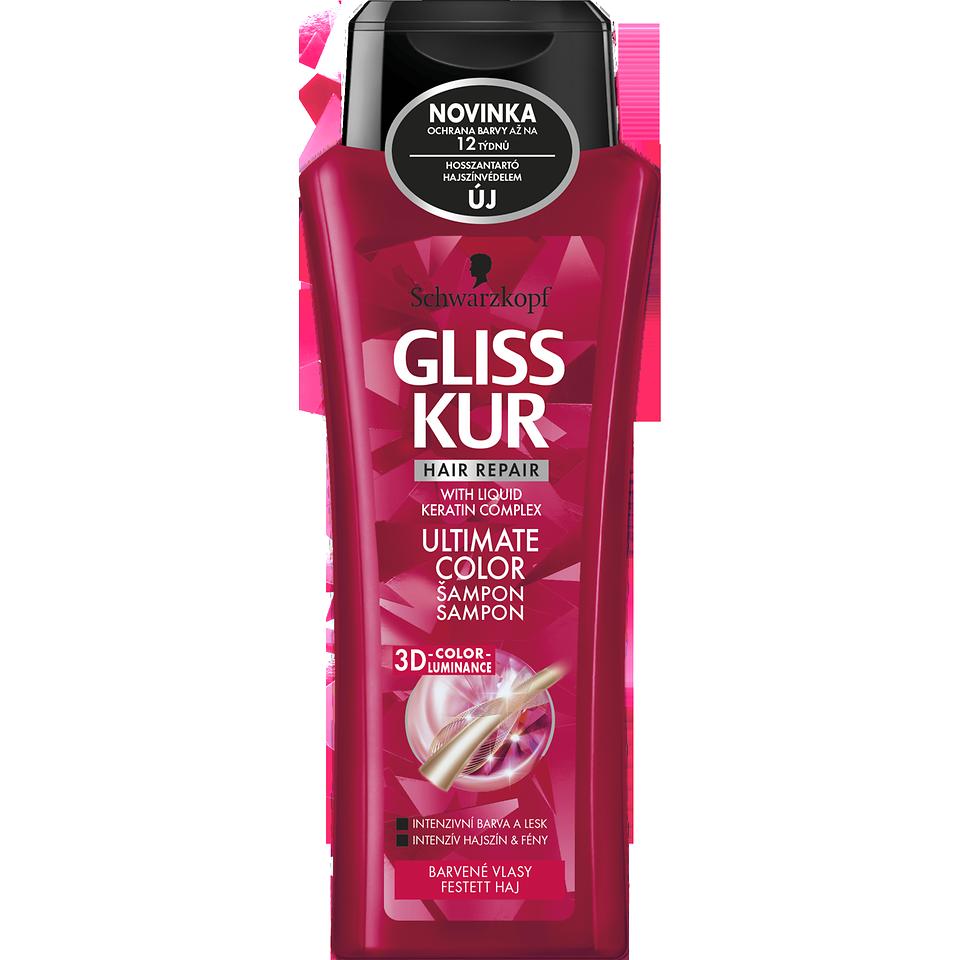 Gliss Kur ULTIMATE Color šampón 250 ml