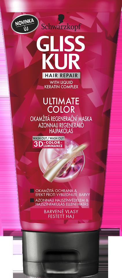 Gliss Kur ULTIMATE Color okamžitá regeneračná maska