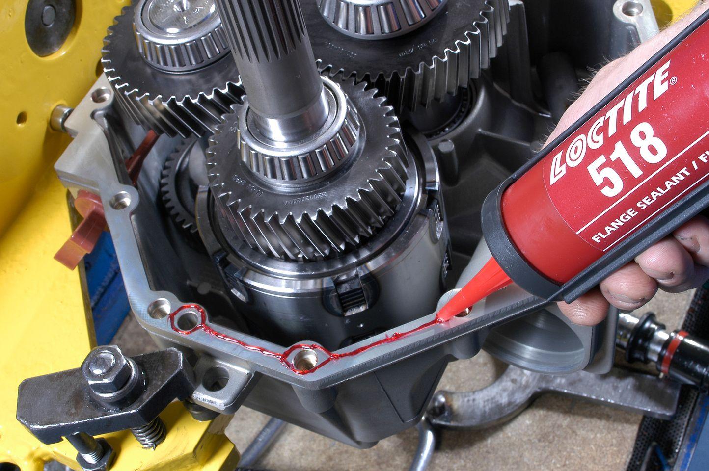 LOCTITE 518 è ideale per l'utilizzo su flange rigide in ghisa, acciaio e alluminio.
