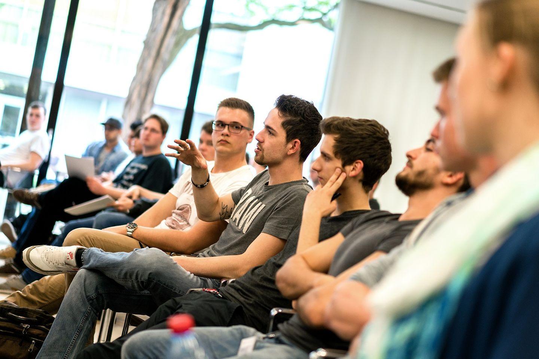Vorträge beim Azubi-Nachhaltigkeitsworkshop