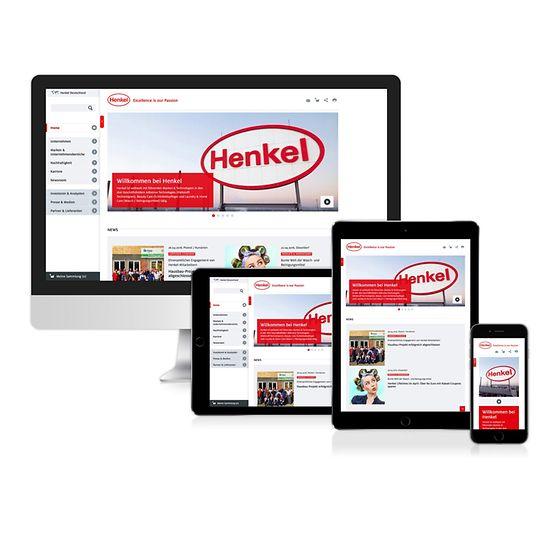 Henkel-Webseite