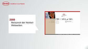 Henkel-Webseite 2000