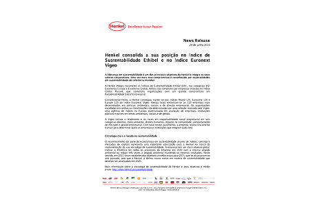 2016-06-29-Henkel consolida a sua posição no Índice de Sustentabilidade Ethibel e no Índice Euronext Vigeo.pdf.pdfPreviewImage