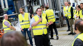 Felix Sobotka, Leiter der Waschmittelproduktion von Henkel in Düsseldorf