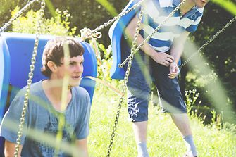 Germany: Fit for fun – Autistic teenager take part in social activities.