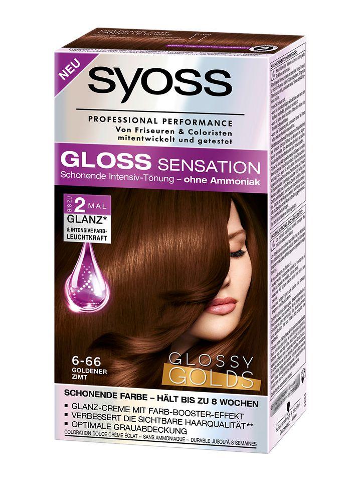Syoss Gloss Sensation Glossy Golds Goldener Zimt (6-66)