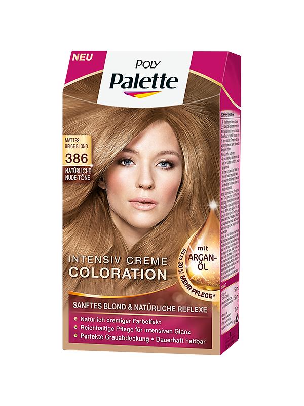 Poly Palette Natürliche Nude-Töne Mattes Beige Blond (386)