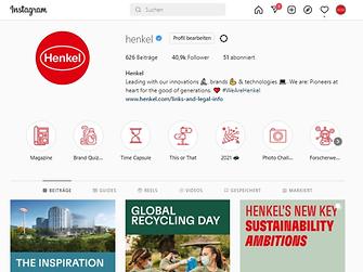 instagram - henkelglobal - screenshot