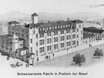 Henkel built its first production subsidiary in Basel-Pratteln, Switzerland