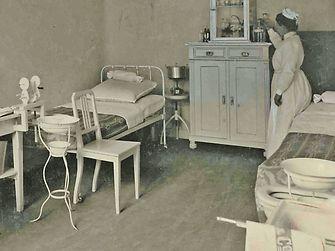In 1912, Hugo Henkel, company founder Fritz Henkel's son, had an infirmary set up.