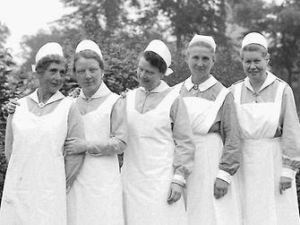 Nurses at Henkel in the year of 1931