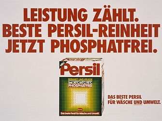 1986: Persil phosphate-free laundry detergent