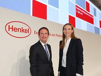 CEO Hans Van Bylen and Dr. Simone Bagel-Trah, Chairwoman of Henkel's Supervisory Board