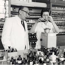 1956, the fragrance development actually began at Henkel for Fa soap