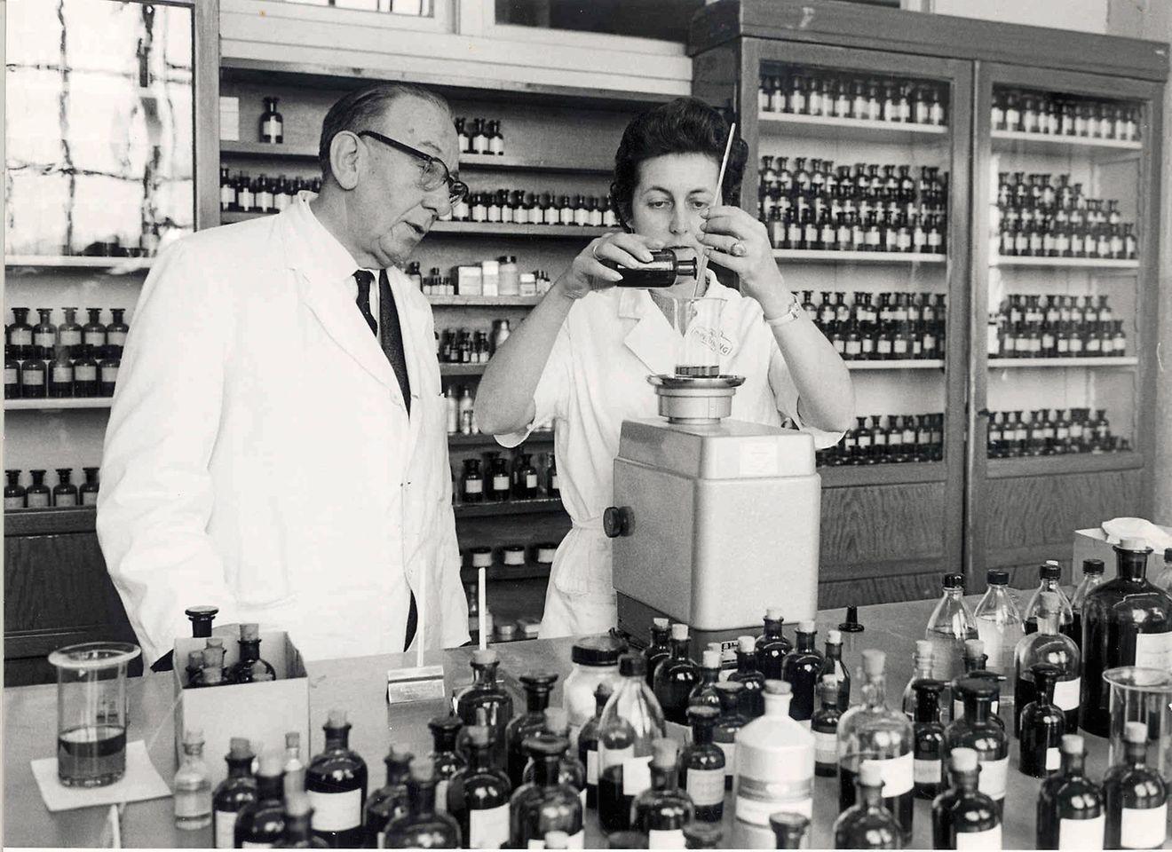 Die Duftentwicklung bei Henkel begann 1956