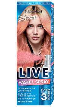 Live Pastel Spray Candy Cotton