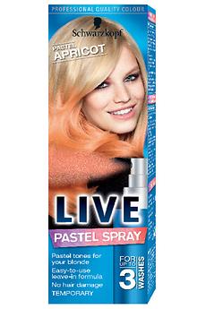 Live Pastel Spray Pastel Apricot