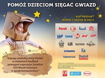 """Rusza charytatywna akcja """"Pomóż dzieciom sięgnąć gwiazd"""""""