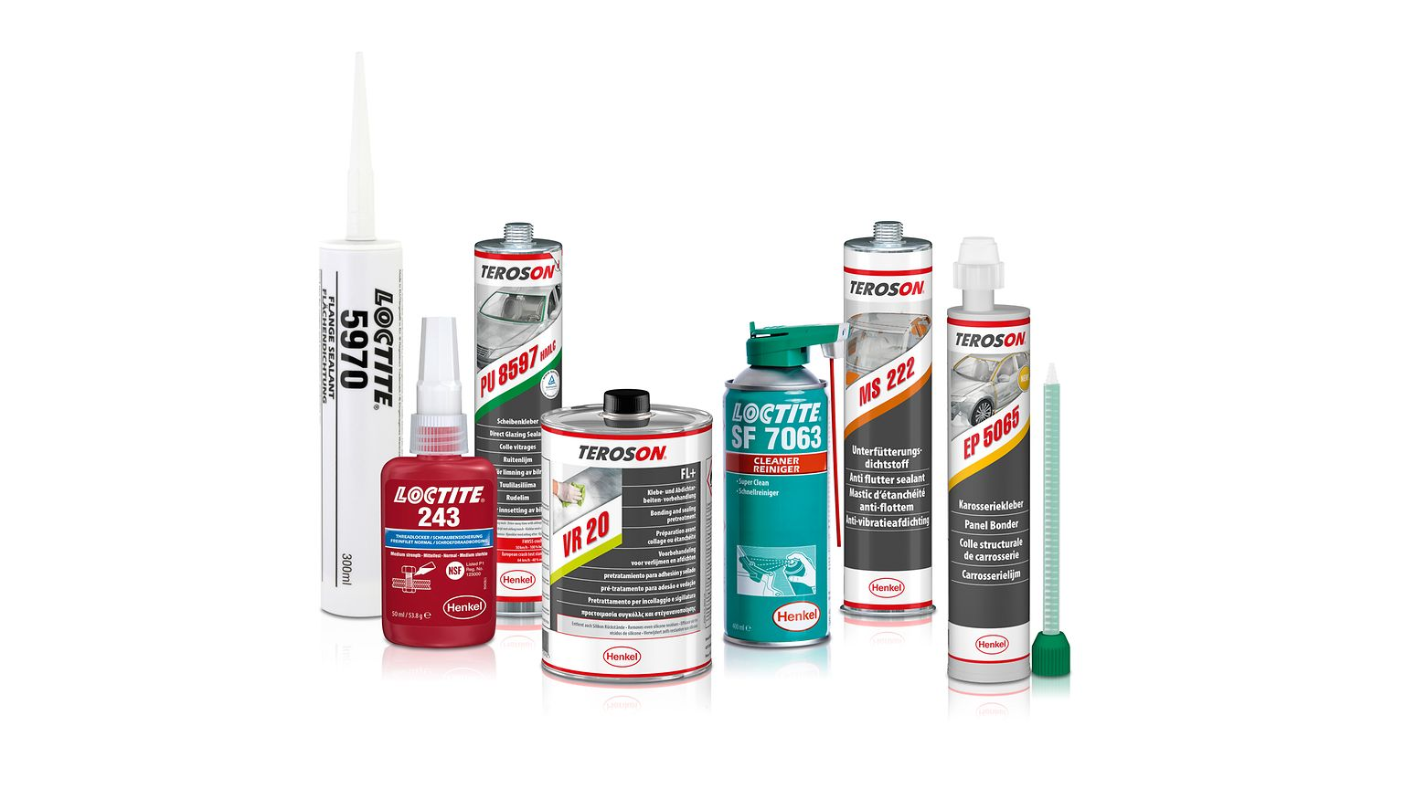 High-performance products from Henkel