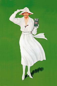 Первая реклама стирального порошка Persil, 1922