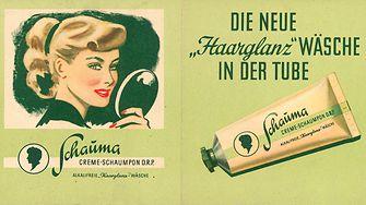 Schauma – первый кремообразный шампунь в тюбиках, 1949 г.