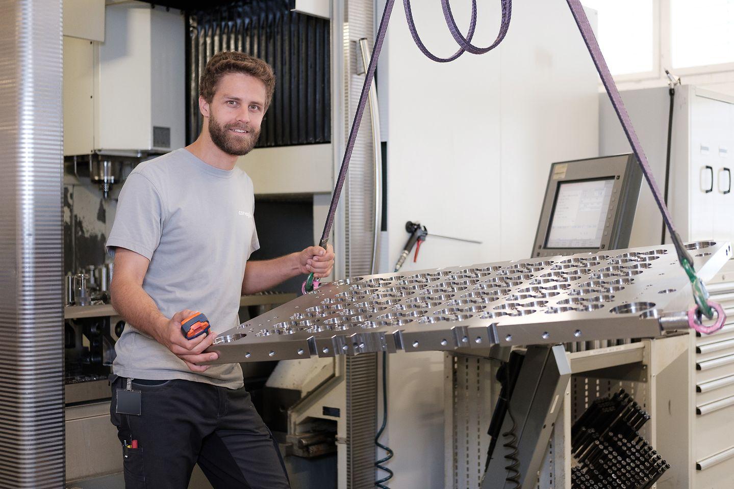 Corvaglia Mould fertigt Kavitäten für die Produktion von Verschlusskappen