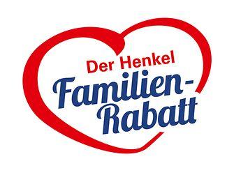 """Logo """"Der Henkel Familien-Rabatt"""""""
