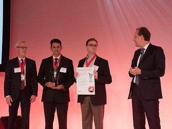 Best Supply Performance / Sasol: Tom O'Brien, Stefan Strydom, Mike Clark and Thomas Holenia (from left)