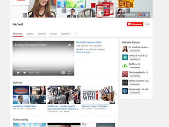 Henkel Corporate YouTube