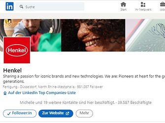LinkedIn Henkel Corporate