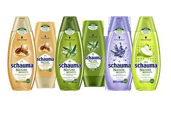 Schauma Nature Moments Shampoos und Spülungen