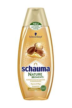 Schauma Nature Moments Marokkanisches Arganöl & Macadamiaöl Shampoo