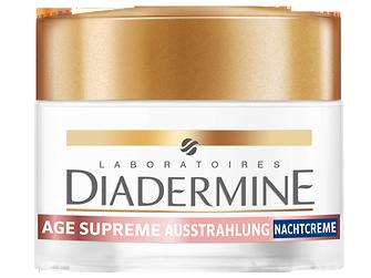 Diadermine Age Supreme Ausstrahlung Reaktivierende Nachtcreme