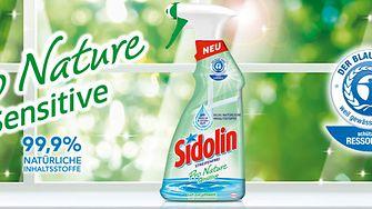 300 Produkttestern für das neue Sidolin Pro Nature Sensitive gesucht
