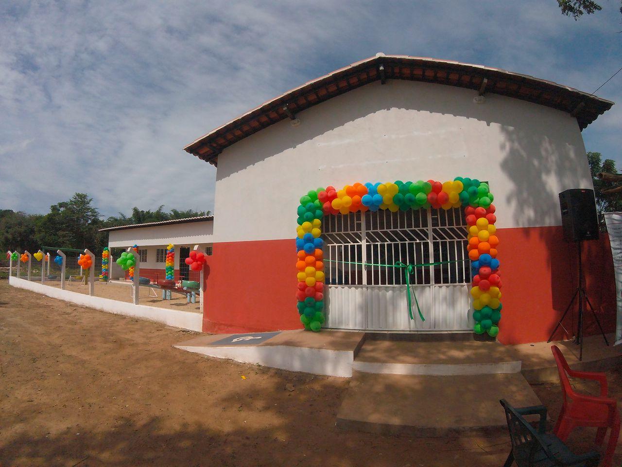 The new school in Mata Virgem