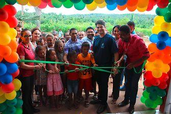 The new school in Mata Virgem was officially opened by Codó mayor Francisco Nagib