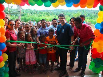 Die neue Schule in der Gemeinde Mata Virgem wurde vom Oberbürgermeister der Region Codó, Francisco Nagib eröffnet