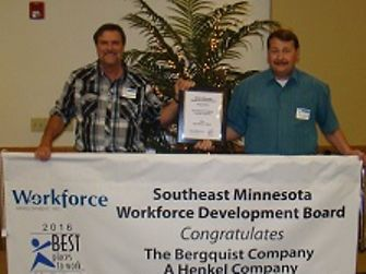 Henkel in Cannon Falls, Minnesota recognized as Best Place to Work 2016