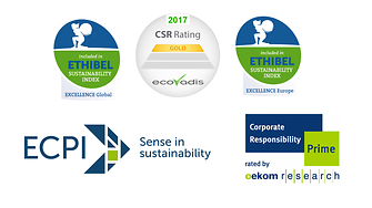 Recognition of Henkel's sustainability performance by international ratings and indices