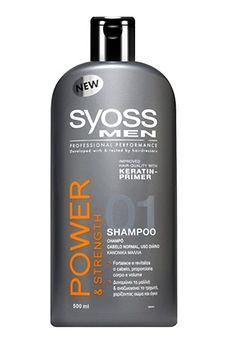 Champô Syoss Men Power & Strength