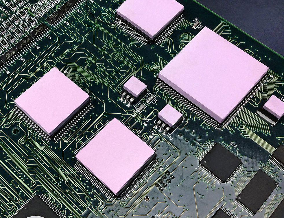 Thermally conductive Gap Pad HC 5.0
