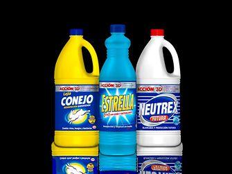 Bodegón de lejías Henkel