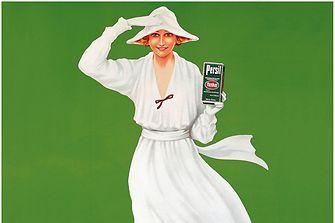 Persil-Werbe-Ikone: die Weiße Dame