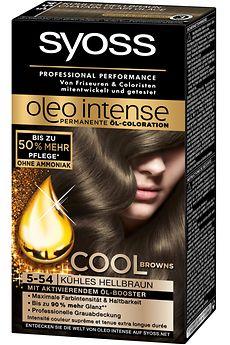 Cool Browns von Syoss Oleo Intense (5-54) Kühles Hellbraun