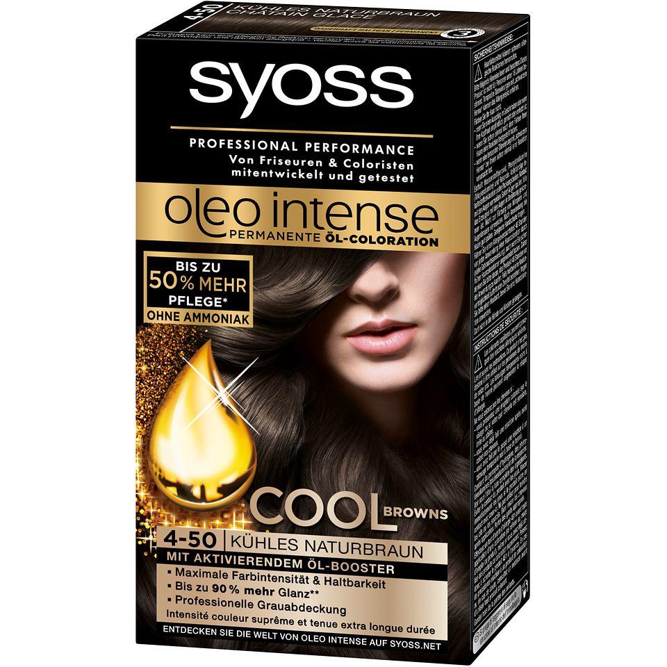 Cool Browns von Syoss Oleo Intense (4-50) Kühles Naturbraun
