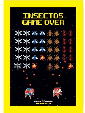 Game Over Insectos