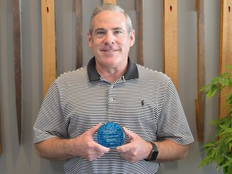 The Sustainability Consortium presented Rob Anson with a Champion Award for his contributions and support of their mission.